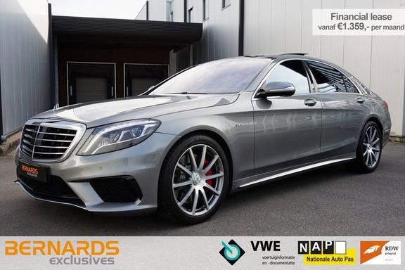 Mercedes-Benz S-Klasse 63 AMG 4Matic Lang *Nightvision *Soft Close