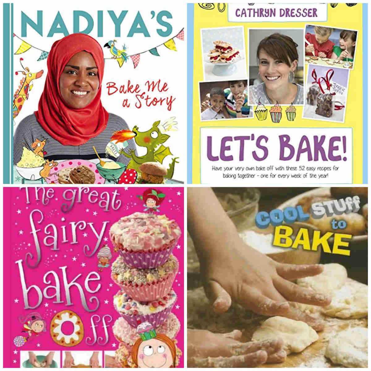 Bake Me A Story, Let's Bake, The Great Fairy Bake Off and Cool Stuff To Bake