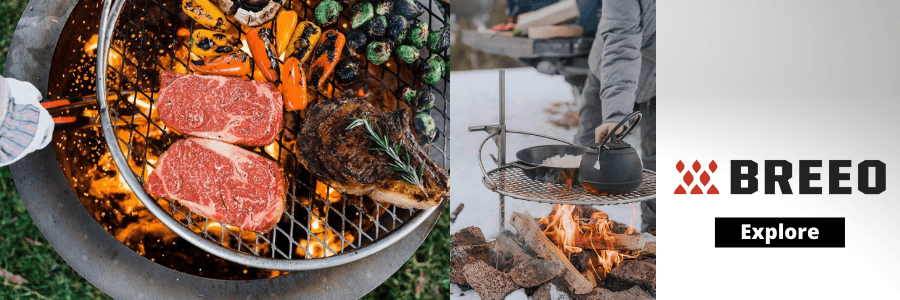 Fire Pit Cooking Grate Review - Breeo Outpost