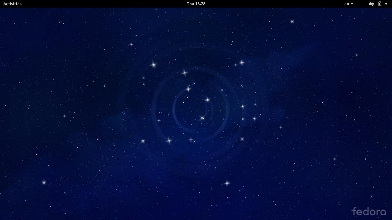 Desktop Fedora