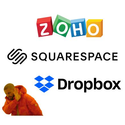 "Drake says ""Dropbox is so 2017"""