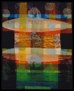 "Jay Matthews, USA. ""Untitled"" 1999. Cardboard, acrylic 46x58cm"