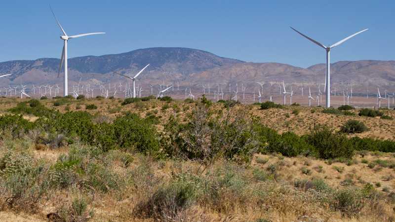 Wind farm comes into view