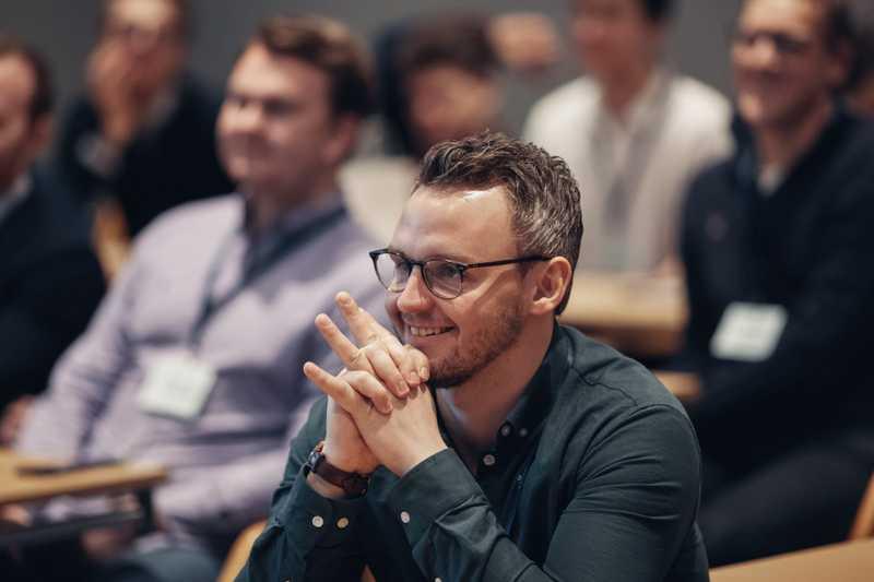 Martin Ervik er tilskuer på CapraCon 2019