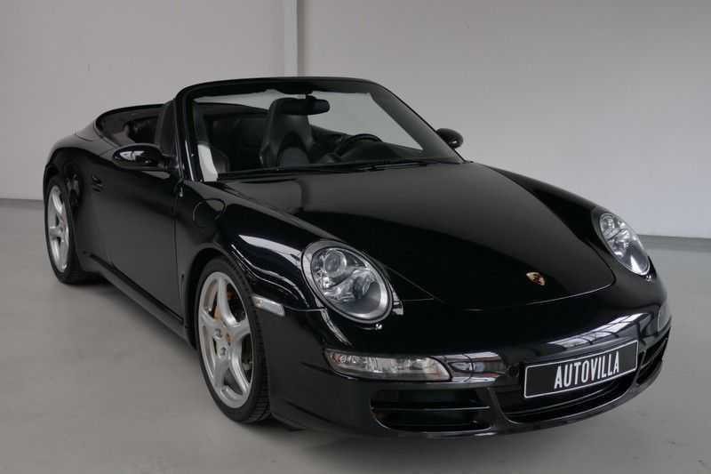 Porsche 911 Cabrio 3.8 Carrera S Keramisch - Sport chrono afbeelding 5
