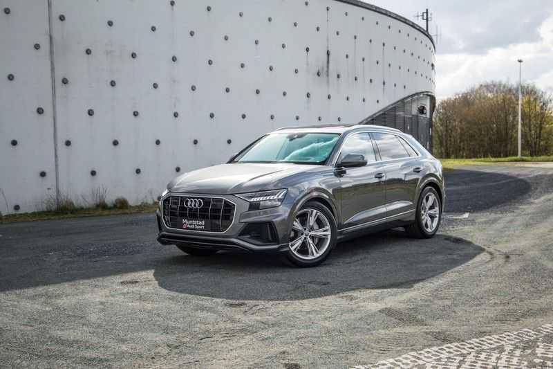 Audi Q8 55 TFSI quattro 340PK | Pano.dak | S-Line | 360 Camera | Adapt.cruise | Head-Up | B&O Advanced Sound | Massage/ventilatie/verwarmde Stoelen | Matrix LED | Full option | afbeelding 3