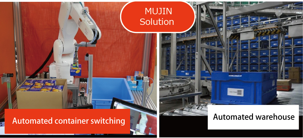 Container Switching   MUJIN, Inc