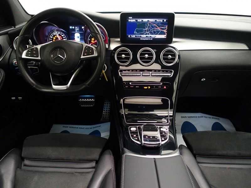 Mercedes-Benz GLC 250D 4MATIC 204pk 9G-Tronic AMG Edition- Panodak, Leer, Navi, Camera afbeelding 17