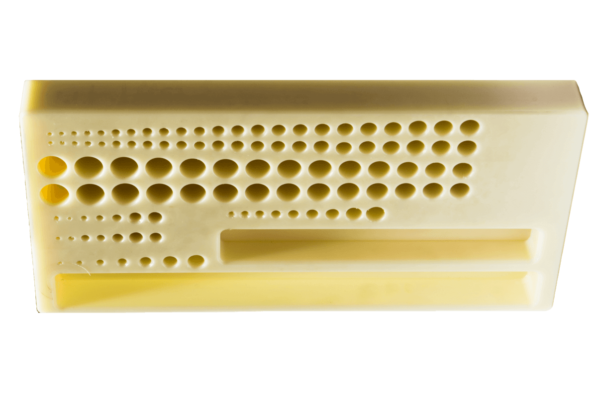 Base plate from polyamide
