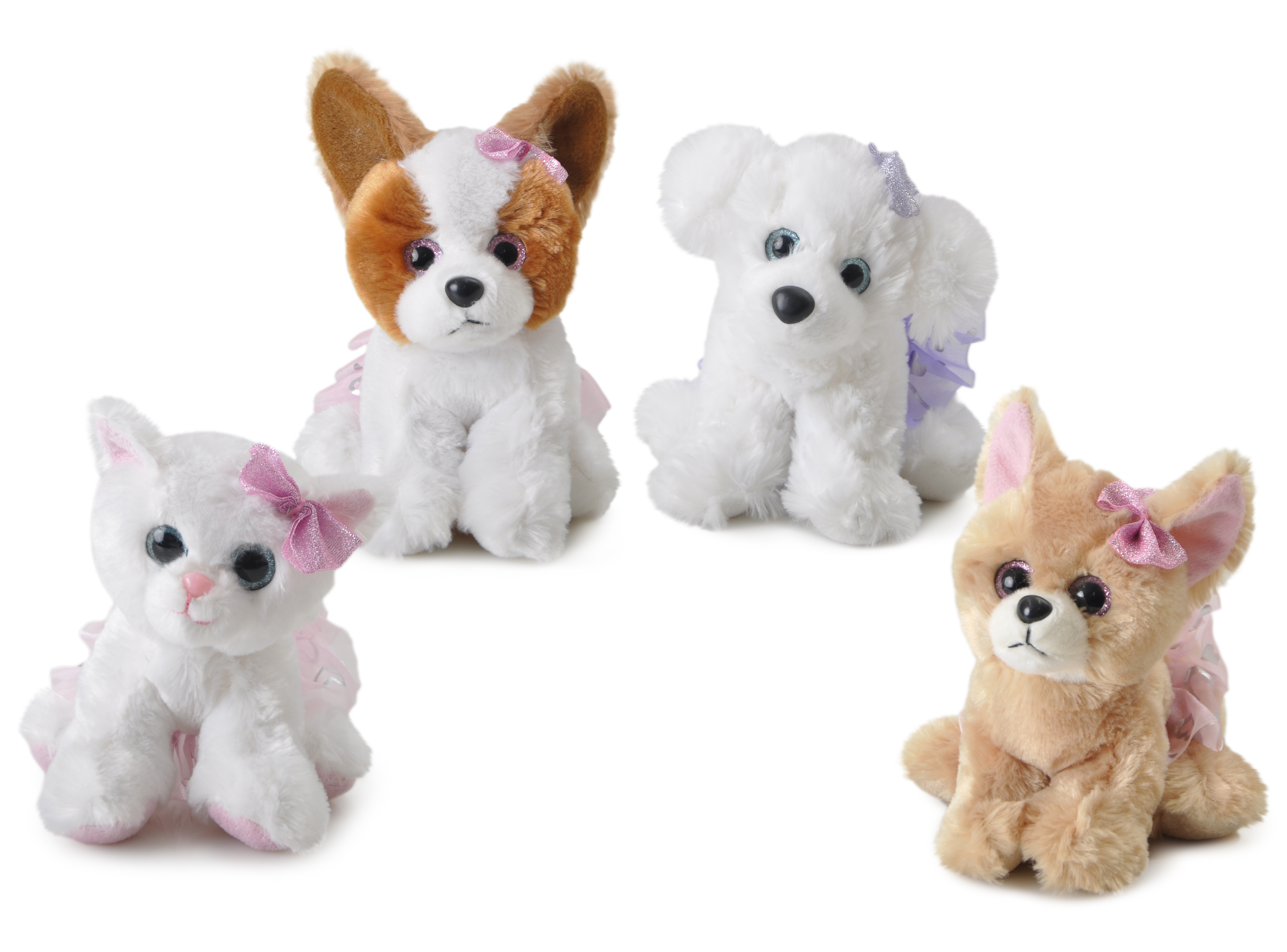 The Petting Zoo: Ballerina Miniz Dogs & Cat Assortment