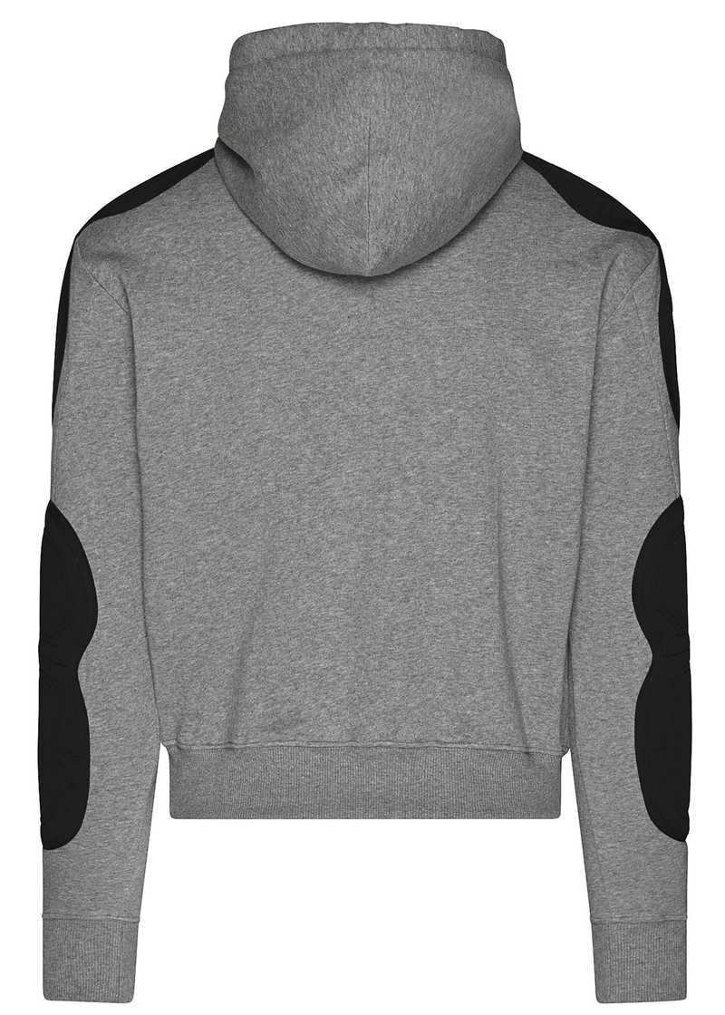 FARUK hoodie grey/black. GmbH Spring/Summer 2021 'RITUALS OF RESISTANCE'