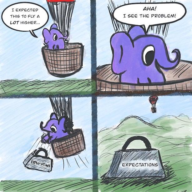 Expectations Comic by Salman Ansari