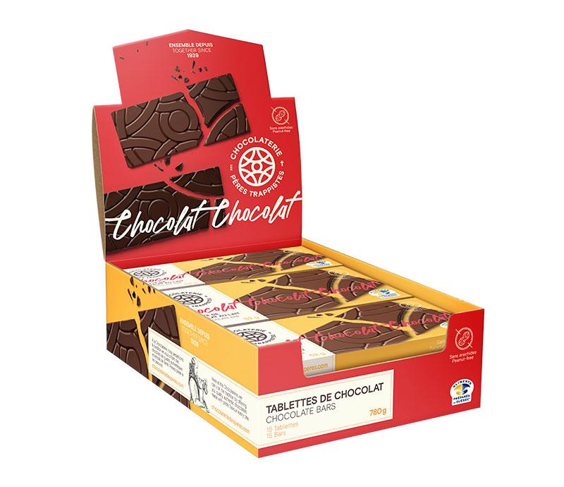 Chocolat Tablettes de chocolat au lait