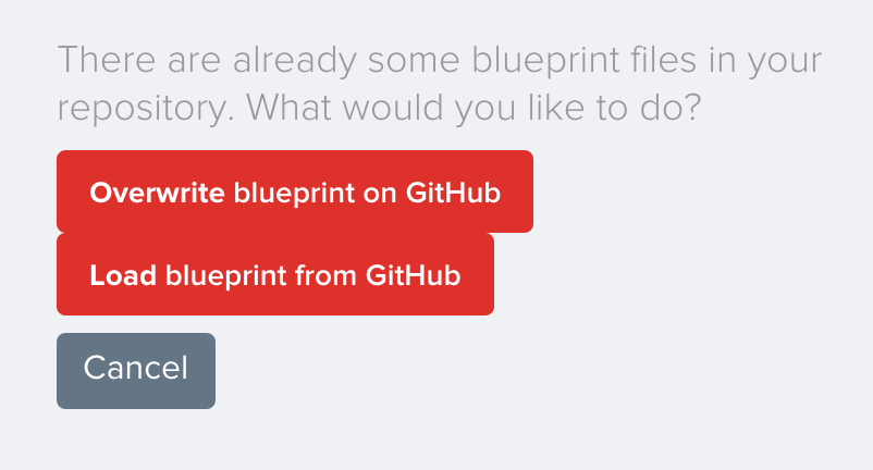 Initial GitHub sync options. You probably never need to look here again.