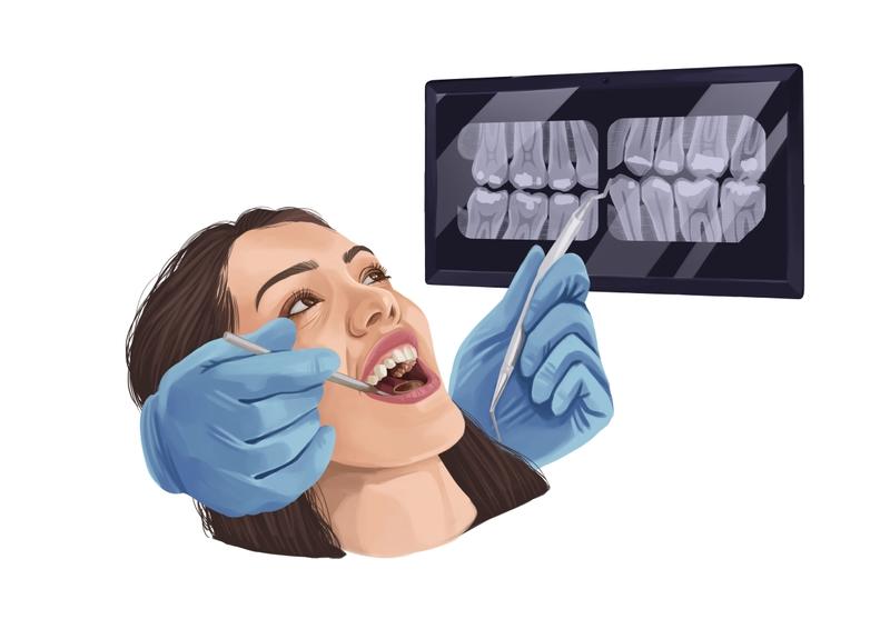 Comprehensive dental exam