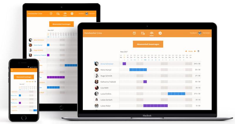 Arbeitszeiterfassung Tablet, Arbeitszeiterfassung mobil