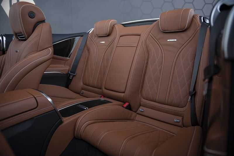Mercedes-Benz S63 Cabrio 63 AMG 4Matic DISTRONIC + BTW + BURMESTER afbeelding 21