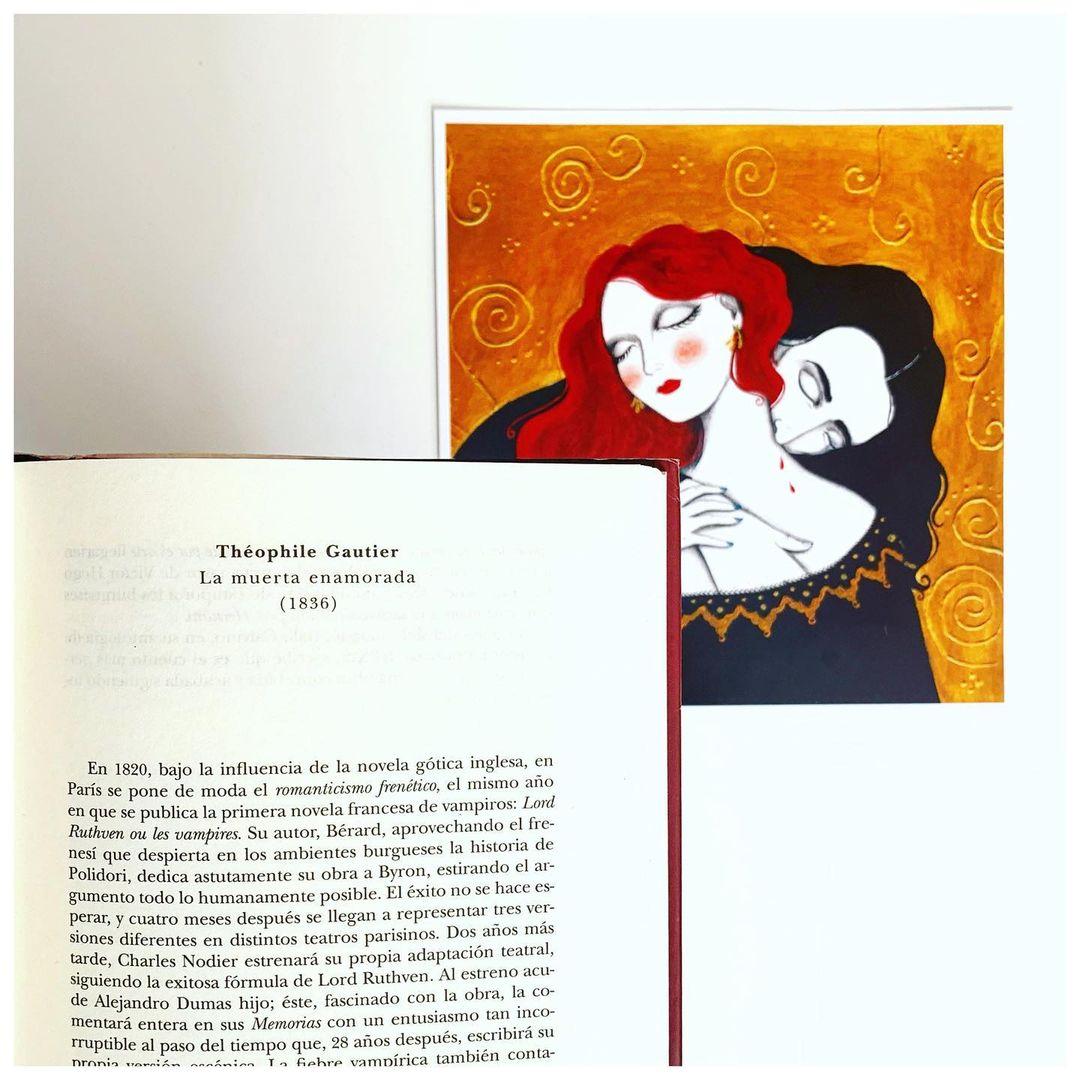 """Imagen de Reseña de """"La muerta enamorada"""", de Théophile Gautier"""