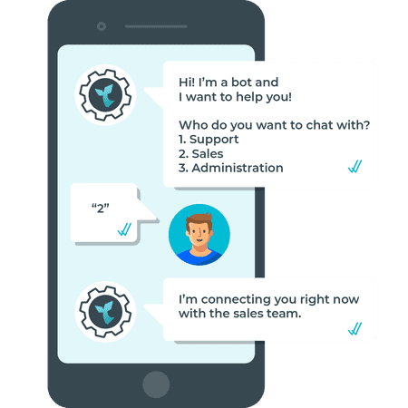 Double your customer service capacity through WhatsApp