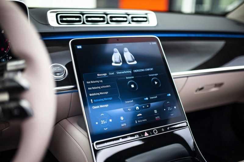 "Mercedes-Benz S-Klasse 500 4Matic Lang AMG *Pano / 3D Burmester / HUD / Distronic / 21"" / 3D Display* afbeelding 22"
