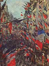 Claude Monet's Rue Saint-Denis is one his most iconic works of Paris.