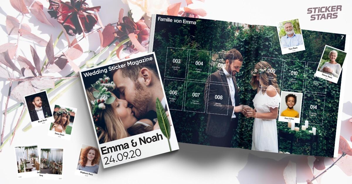 Hochzeitszeitung mal anders: Die einzigartige Alternative