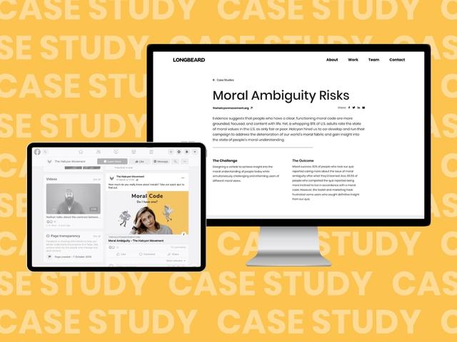Moral Ambiguity Risks