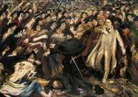 Henry de Groux, Zola faces the mob, oil on canvas, 1898