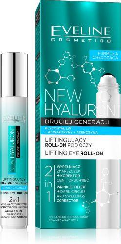 EVELINE New Hyaluron lifting szemkörnyékápoló roll-on 15 ml