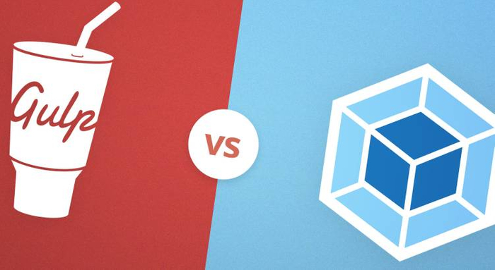 Gulp and Webpack contrast banner
