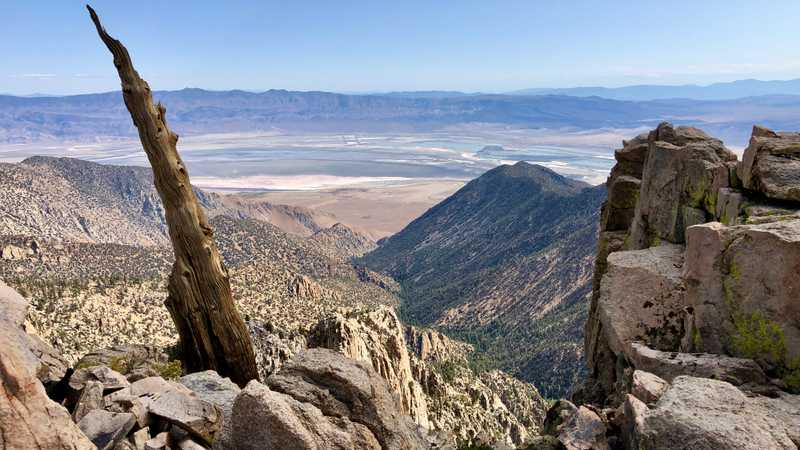 A view of Owens Valley