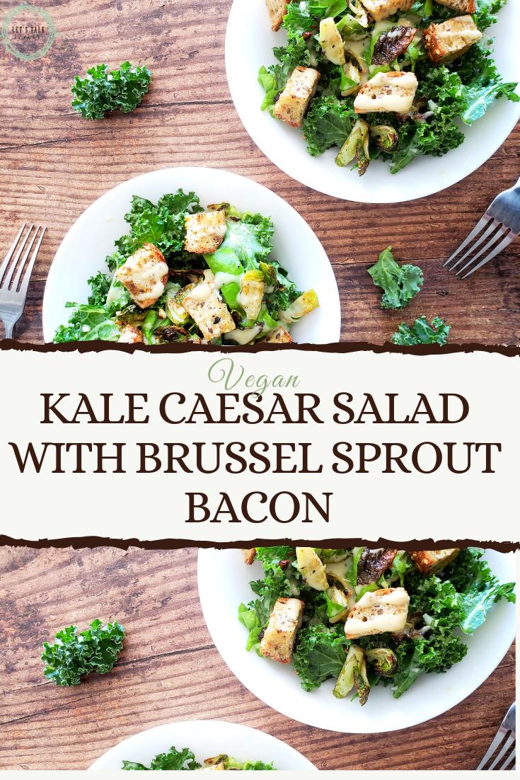 Bowl kale Caesar salad