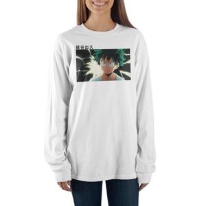 My Hero Academia Deku Long Sleeve Tee Shirt