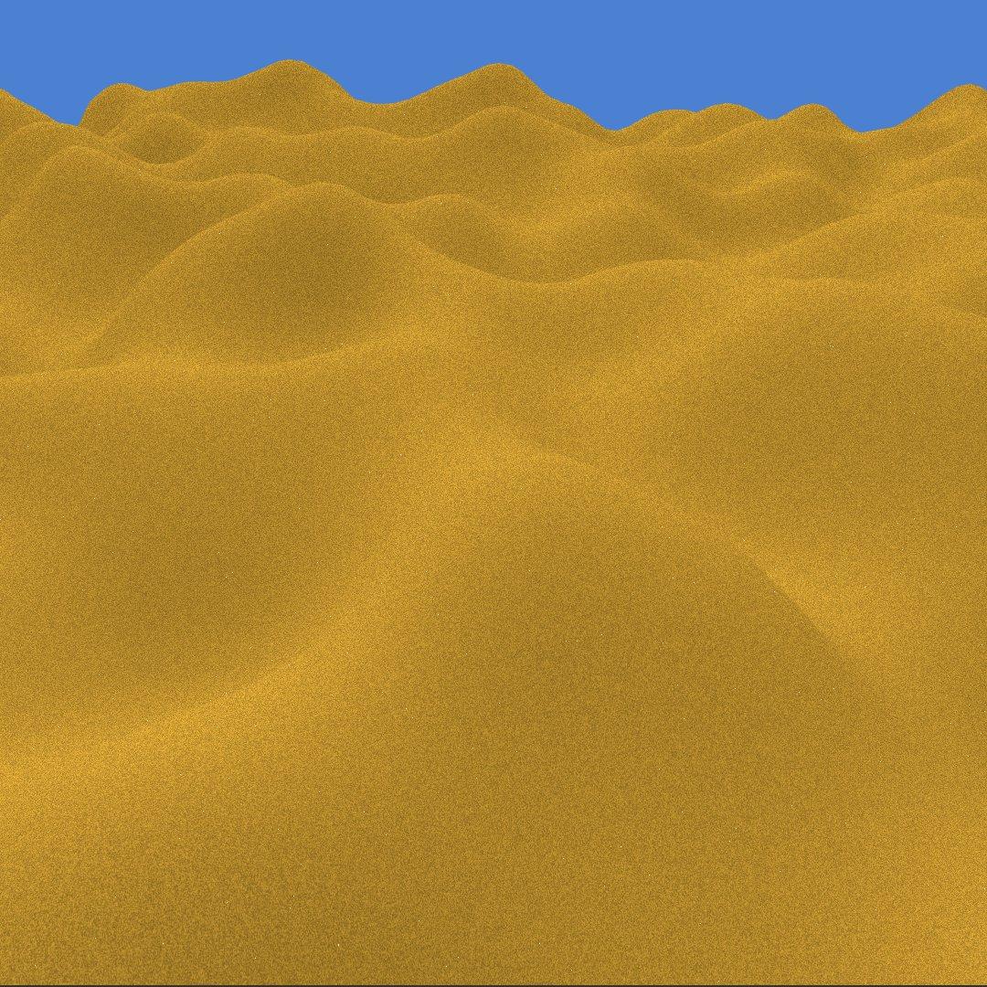 WiseShards Blog | Basic Procedural Desert Generation and