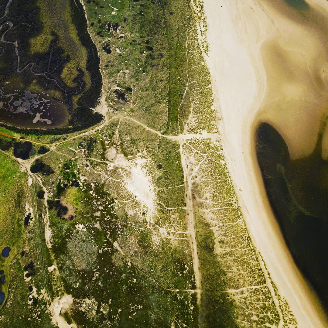 aerial photo of wells-next-the-Sea