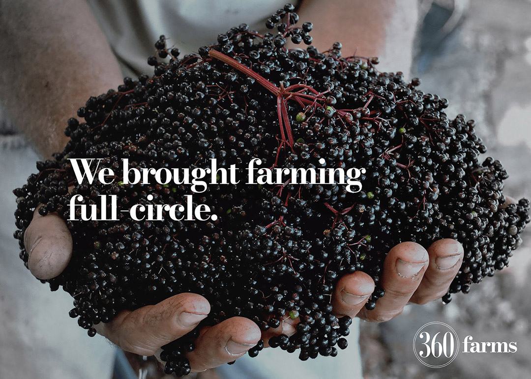 We brought farming full circle.