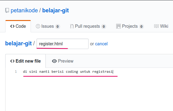 Isi file register