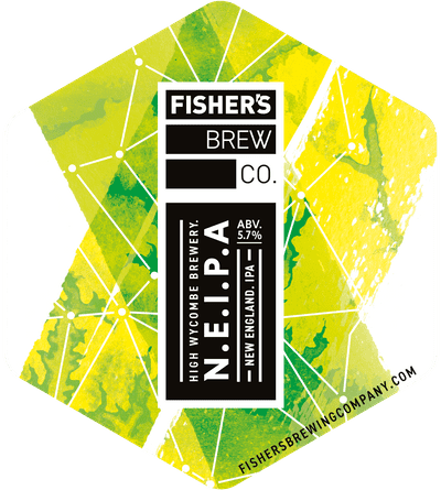 Fisher's NEIPA pump clip
