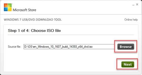 Choose Windows 10 ISO Image