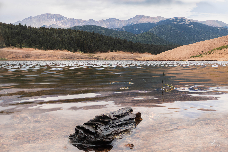 Pikes Peak Reservoir - Colorado Springs, Colorado