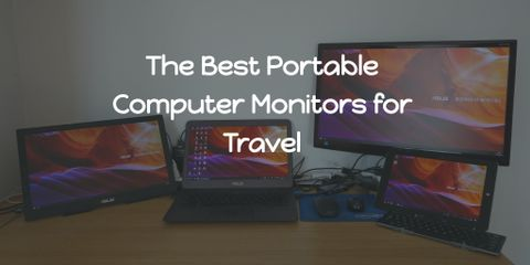 A Portable monitor is light, easy to carry around, and easily connects to a laptop without much of a struggle. Here are the best travel monitors.
