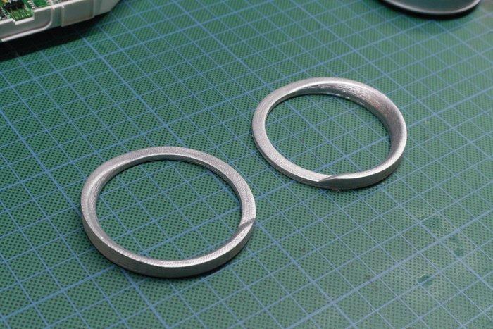3D printed gimbal rings