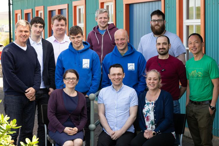 SnapDragon, our Edinburgh-based client, visited our Shetland office this week.