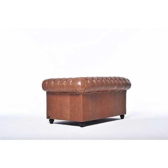 The Chesterfield Brand Vintage 2zitsbank Bruin 550x550 56 cm