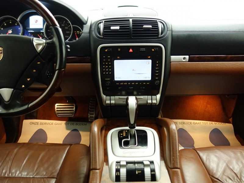 Porsche Cayenne 4.8 Turbo 500pk Autom, Schuifdak, Leer, Bose, Xenon, Memory, Full! afbeelding 10