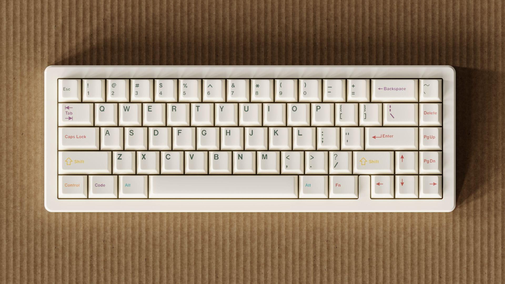 ePBT Grand Tour Pizza Keyboard
