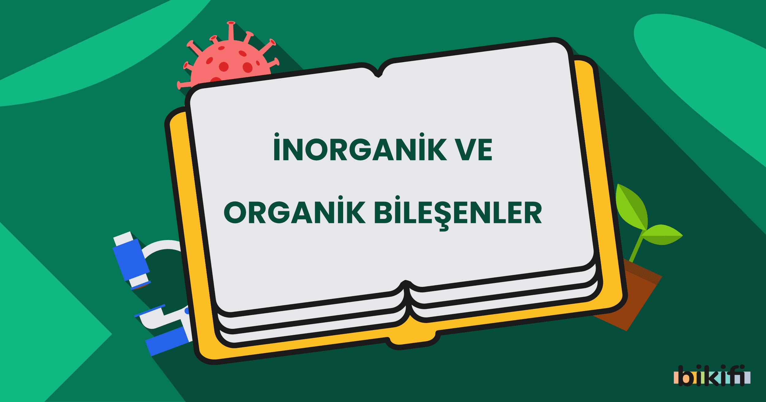 İnorganik ve Organik Bileşenler