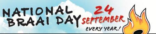 National Braai Day - 24 September