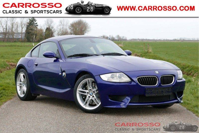"""BMW Z4 Coupé 3.2 M Xenon, 18""""LM, 65.683 km, Interlagos Blauw-Metallic afbeelding 1"""
