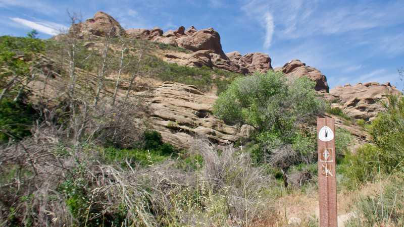 Entering Vasquez Rocks Natural Area